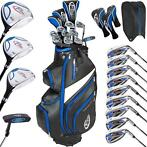 Complete heren golfset grafiet + cartbag en regenhoes 401486