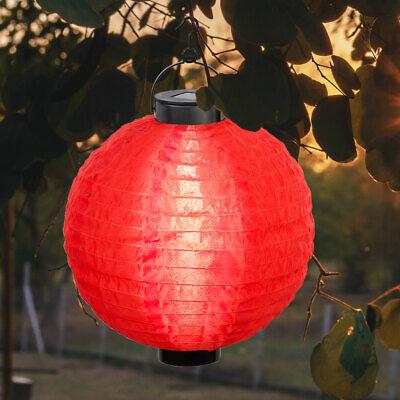 LED Solar Péndulo Cubrir Farolillo Terraza Decoración Fiesta Luz Exterior Bola