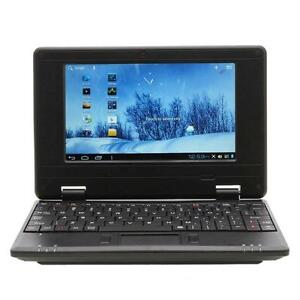 "38% Savings! New 7"" VIA8850 4GB Android 4.1 Notebook Mini Netbook 1.5GHZ Wifi HDMI RJ45 Black"