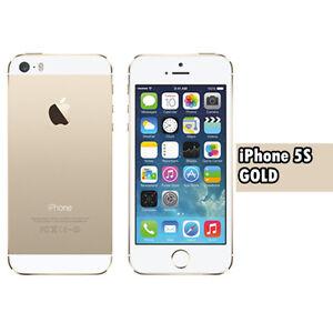 Apple iPhone 5S 16gb Unlocked Factory Smartphone Gold Sim Free