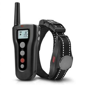 NEW Dog Training Collar, Waterproof USB Rechargeable Dog Remote Trainer with Static Shock, Vibration and Beep Modes f...