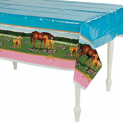 Horse Themed Parties (HORSE theme Table Cover Birthday party)