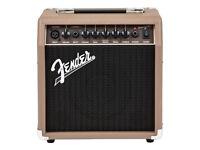 Fender Acoustasonic 15 Acoustic Guitar Amplifier , brand new