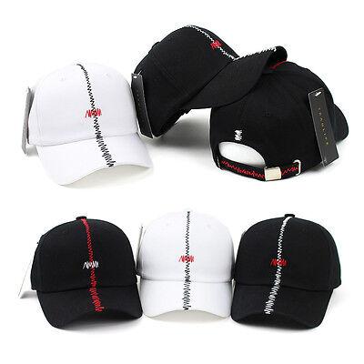 Unisex Mens Womens Zigzag Stitch Teamlife Baseball Cap Adjustable Trucker Hats