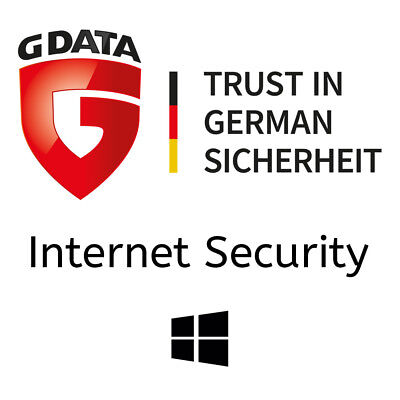 G DATA Internet Security 2020 | 1 PC - 1 Jahr Aktivierungscode