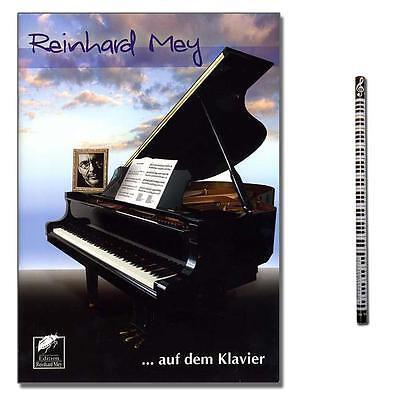 Reinhard Mey ...  auf dem Klavier - mit Musik-Bleistift - 9783925482243