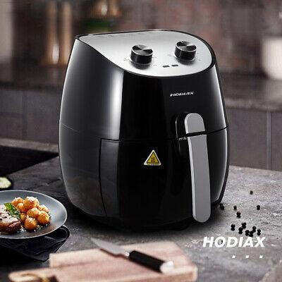Black Muti-function Oil-Free Hot Air Fryer Smokeless Deep Fr