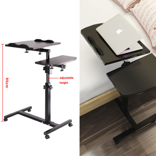 Adjustable Portable Laptop Lazy Table Stand Lap Sofa Bed Tray Computer Notebook Ebay