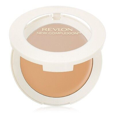 Revlon New Complexion One-Step Compact Makeup, Natural Tan [10] 0.35 oz (2 pack)