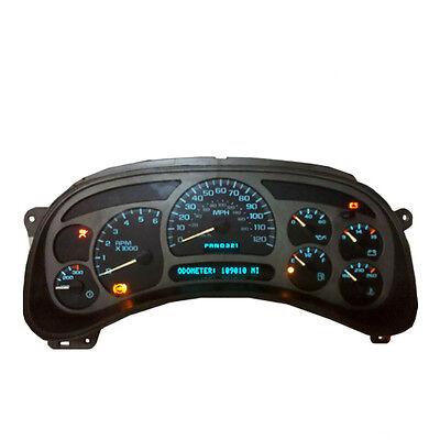 Chevy GM GMC Truck Instrument Cluster Speedometer Repair Service 03 04 05 06