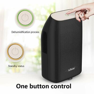 Afloia Dehumidifier for Home 2000ML (68oz), Portable Quiet Dehumidifier BLACK