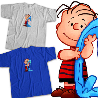 Linus van Pelt Blanket Peanuts Charlie Brown Mens Womens Kids Unisex Tee T-Shirt](Peanut Charlie Brown)