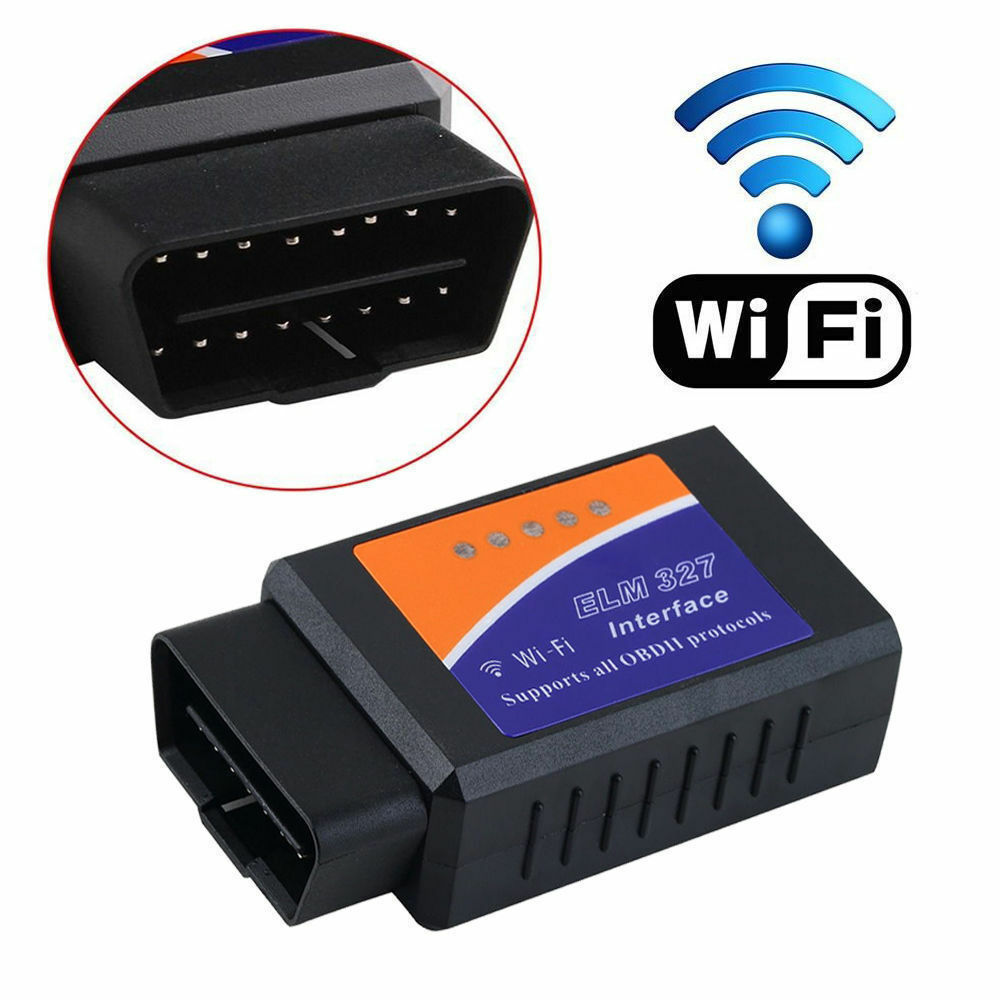 wifi obd2 obdii elm327 for ios android car diagnostic scanner code reader tool f ebay. Black Bedroom Furniture Sets. Home Design Ideas