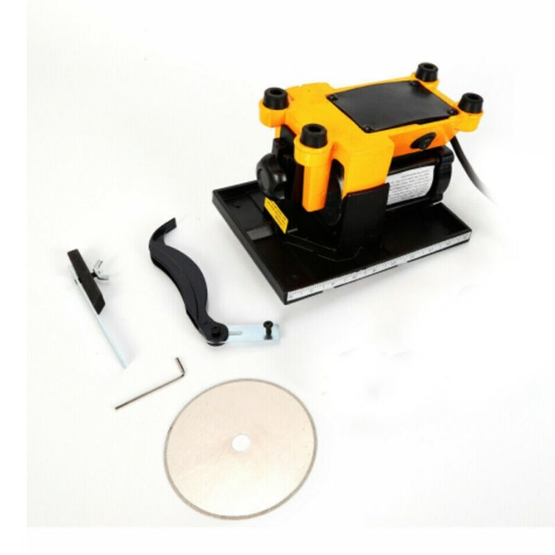 110V Mini Table Saw Bench metal wood glass stone Sawing Cutting machine Cutter