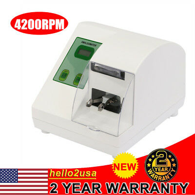 High Speed Dental Amalgamator Digital Hl-ah Amalgam Capsule Mixer 40w 4200rpm Us