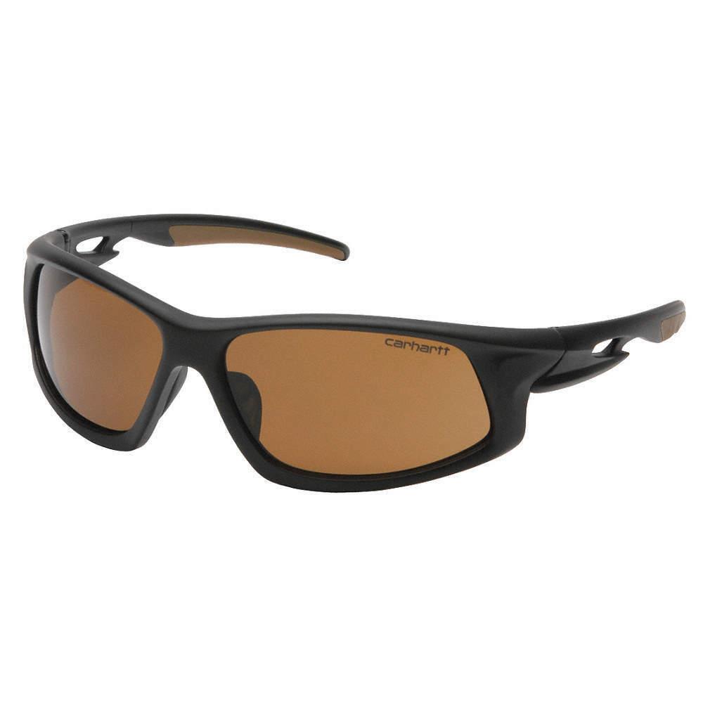 Carhartt CHB618DTCC Ironside Sandstone Bronze Anti-Fog Lens with Black/Tan Frame Business & Industrial