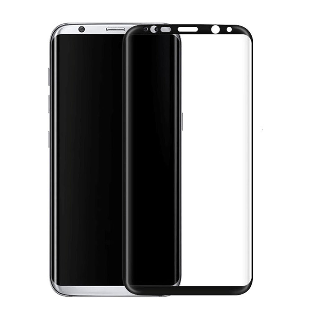 3D Full Cover Tempered Glass Screen Protector Film For Samsung Galaxy S8 S8 Plus