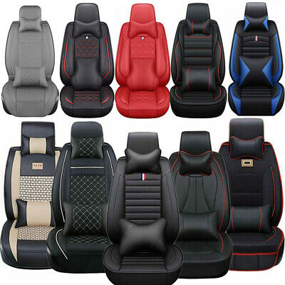 14× Luxury Car Seat Cover 5-Seats Truck SUV Protector Interior Leather Cushions Chevrolet Malibu Car Seat Cover