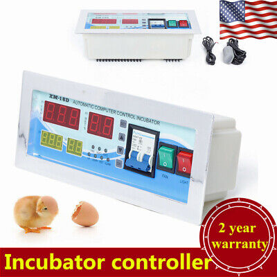 110v Digital Incubator Temperature Controller Temperature Humidity Sensor Usa