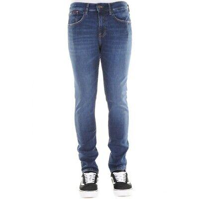 Toy Hilfiger Jeans Slim Tapered Steve Asnds Jeans Uomo DM0DM05784 911 Aspen Da