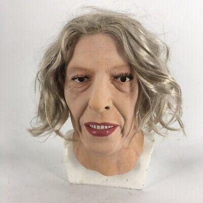 Crossdressing For Halloween (Realistic Female Head Latex Mask Hand-Made Face for Crossdresser Transgender)