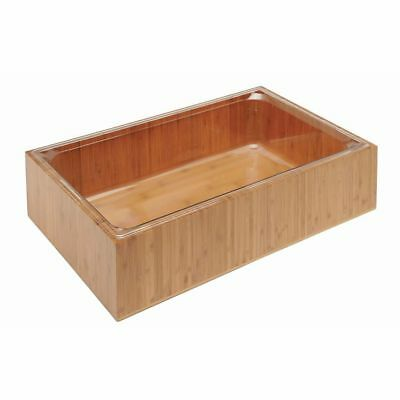 Cal-mil Ice Display With Liner Bamboo Collection Full Size - 20l X 13w X 6h