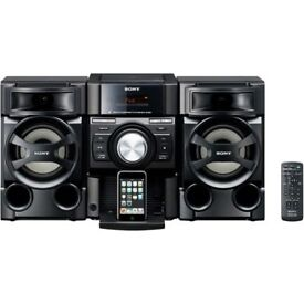 Sony MHC-EC69i Mini Hi-Fi System and remote control
