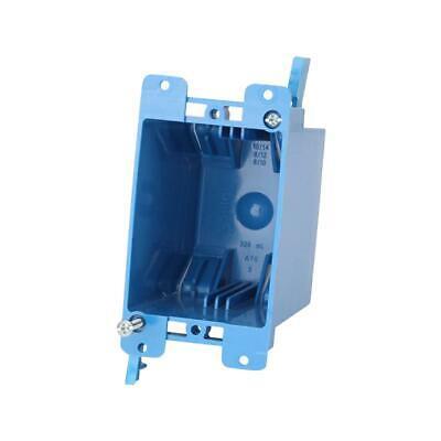 Individual - Carlon 1-gang 20 Cu. In. Blue Pvc Old Work Electrical Box