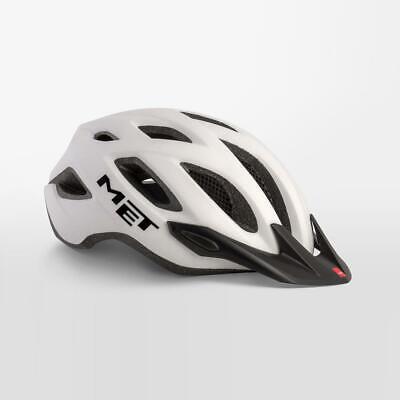 Met Cruzado Bicicleta Casco de Seguridad Integrado LED Talla XL 60-64cm -...