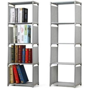 tall narrow bookcase ebay. Black Bedroom Furniture Sets. Home Design Ideas