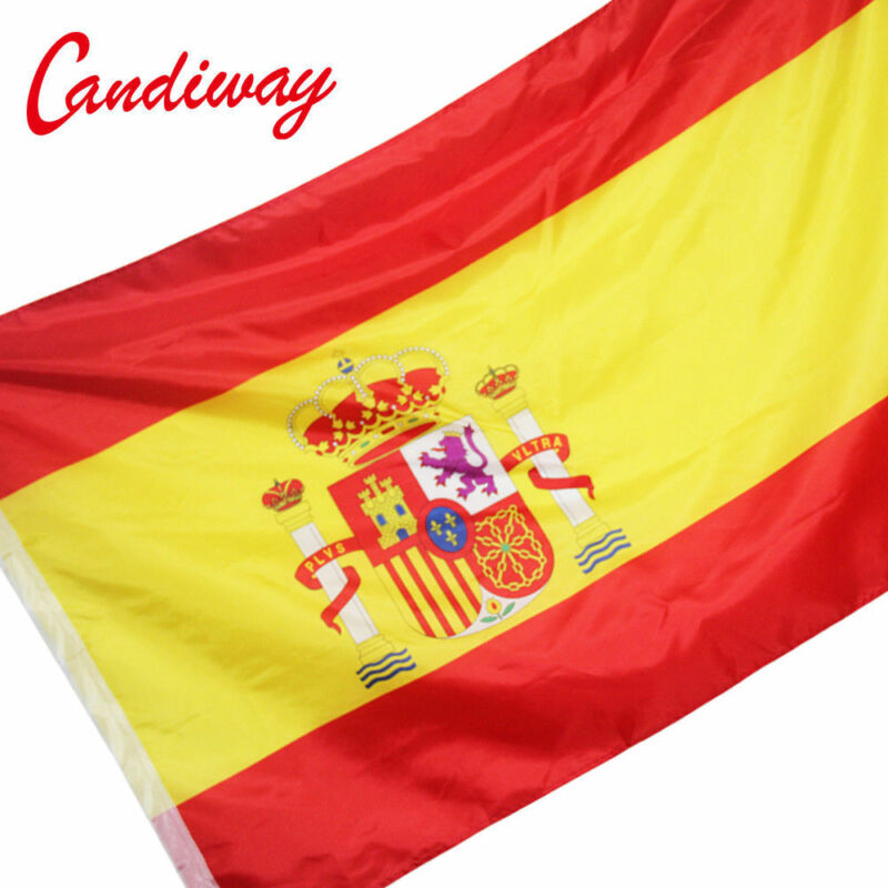 Spain Espana national flag 90*150 cm Hispania Polyester Banner Spanish flag