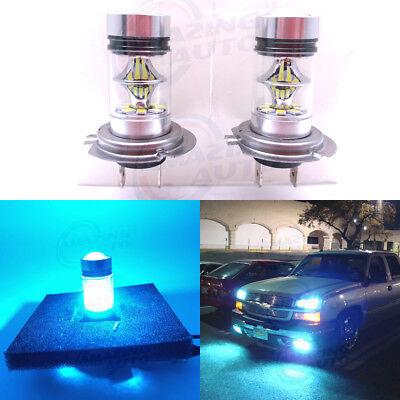 H7 CREE LED Fog Light Bulbs Conversion Kit Super Bright 8000K Ice Blue (Best H7 Bulbs)