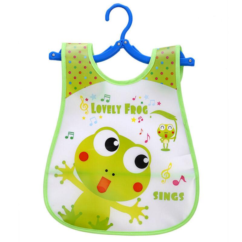 Newborn Cute Kids Bibs Baby Soft Cartoon Bib Toddler Waterproof Saliva Dripping Q
