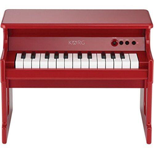 KORG Tiny Piano Red Digital Toy Piano 25 Key From Japan