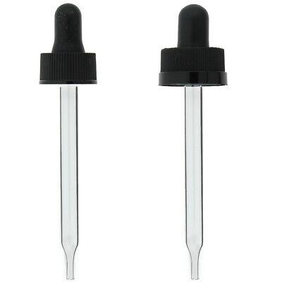 2 Oz 60 Ml Glass Eye Dropper For Boston Bottles With 20x400 20-400 Cap
