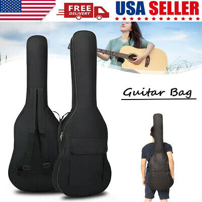 600D Waterproof  Electric Guitar Gig Bag Soft Case Double Strap Backpack Padded