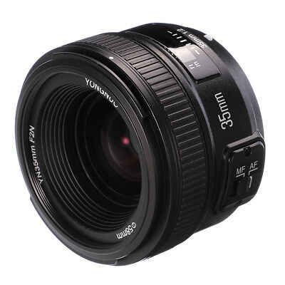 YONGNUO 35MM F2 AF/MF Wide-angle Large Aperture Fixed Lens For Nikon D7200 D750