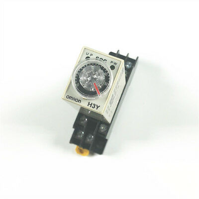 12vdc H3y-2 Power On Time Delay Relay Solid-state Timer 0-60s Dpdt 8psocket Us