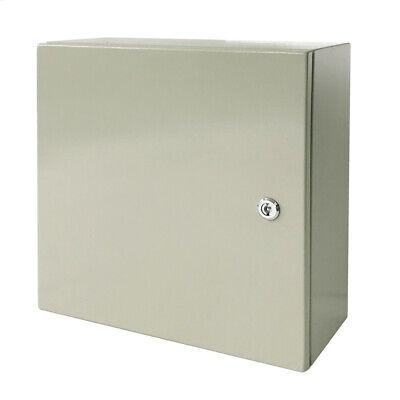 16 X 16 X 8 In Carbon Steel Electrical Enclosure Cabinet 16 Gauge Ip65