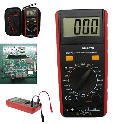 1x Lcd Display Bm4070 Lcr Meter Capacitance Resistance Inductance Self-discharge