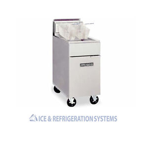 AMERICAN RANGE COMMERCIAL NATURAL GAS OR PROPANE DEEP FRYER   35-50LBS ACFC-3