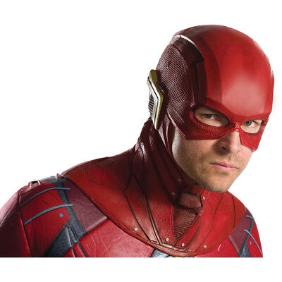 Cheap Halloween Costumes For Men (Adult The Flash Overhead Latex Costume)