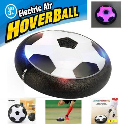 AIR FOOTBALL SOCCER POWER DISK DISC HOVER GLIDE INDOOR OUTDOOR KIDS TOY UK