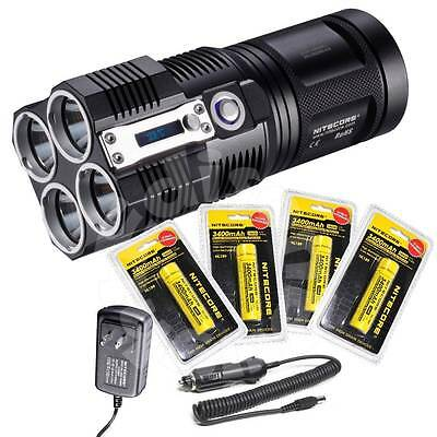 Nitecore TM26 3500 Lumen Flashlight/Searchlight Tiny Monster 4X 18650 (Nitecore Tm26 Tiny Monster 3500 Lumen Flashlight)