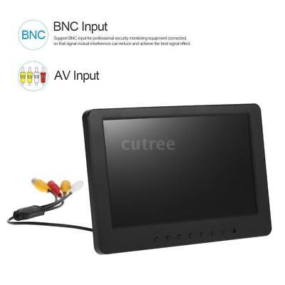 7Zoll 1024x600p UHD Monitor BNC AV Video Audio Eingang TFT LCD