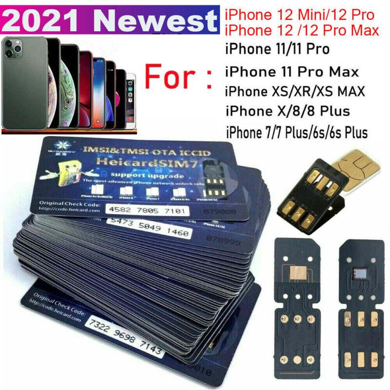 Heicard Turbo unlock Chip Sim Card For Apple iPhone 12 Pro Max/11/XR/8/7/6S Plus