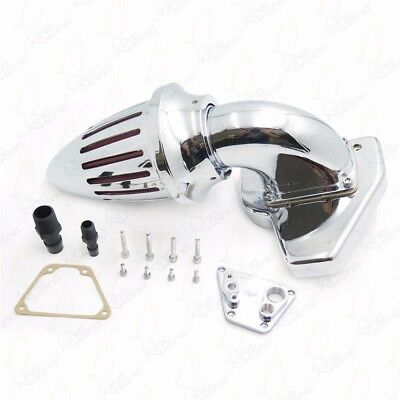 Motorcycle Air Cleaner kits intake For 2002-2009 HONDA VTX 1800 R S C N F CHROME