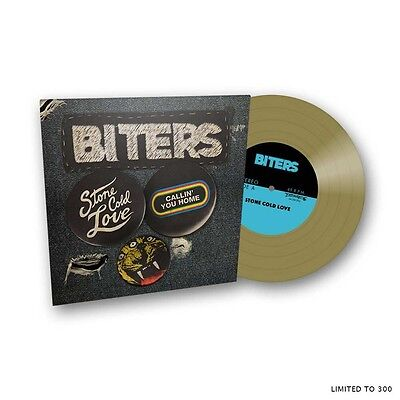"""Biters 'Stone Cold Love / Callin' You Home' Gold 7"""" Vinyl - Record Store Day RSD"""