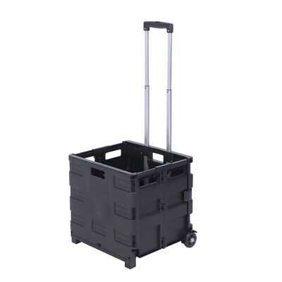 2 Wheels Rolling Utility Cart Heavy Duty Lightweight 80lb Load Capacity Handcart