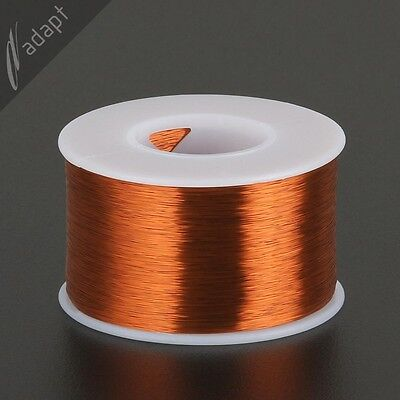 35 AWG Gauge Magnet Wire Natural 5000' 200C Enameled Copper Coil Winding